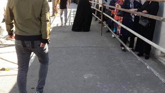 مرکز واکسیناسیون  پایگاه تجمیعی هلال احمر ایران
