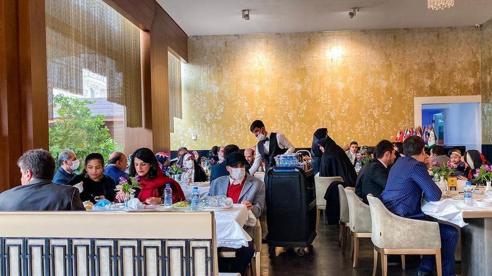 رستوران شاندیز ماهان