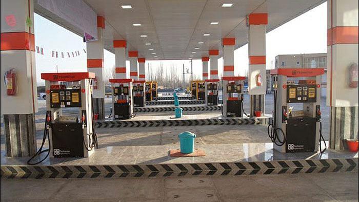 پمپ بنزین شهدای شهرداری