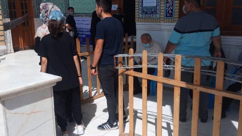 مرکز واکسیناسیون امامزاده حسن