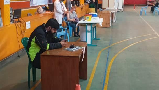 مرکز واکسیناسیون شهدای مدافع حرم شمیرانات
