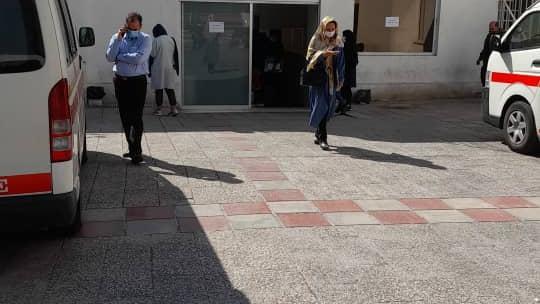 مرکز واکسیناسیون بیمارستان جامع بانوان آرش
