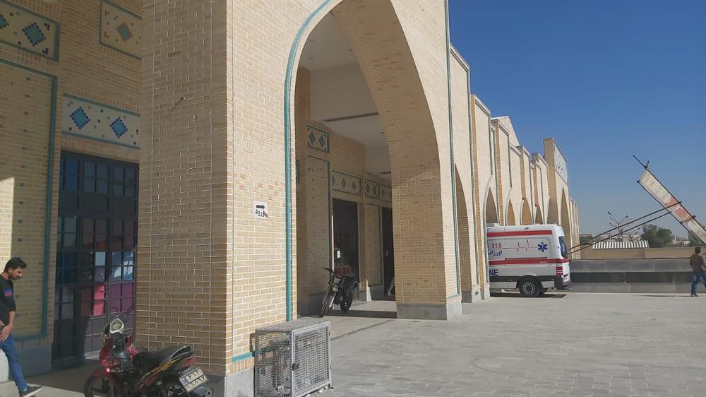 مرکز واکسیناسیون سالن اجتماعات گلستان شهدا اصفهان