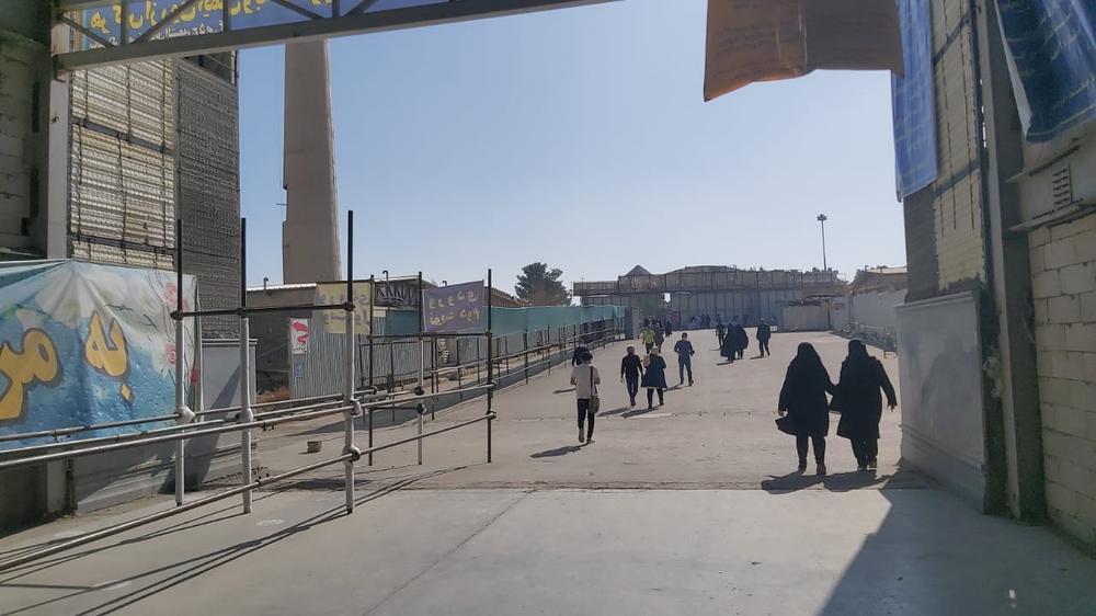 مرکز واکسیناسیون مسجد مصلی اصفهان