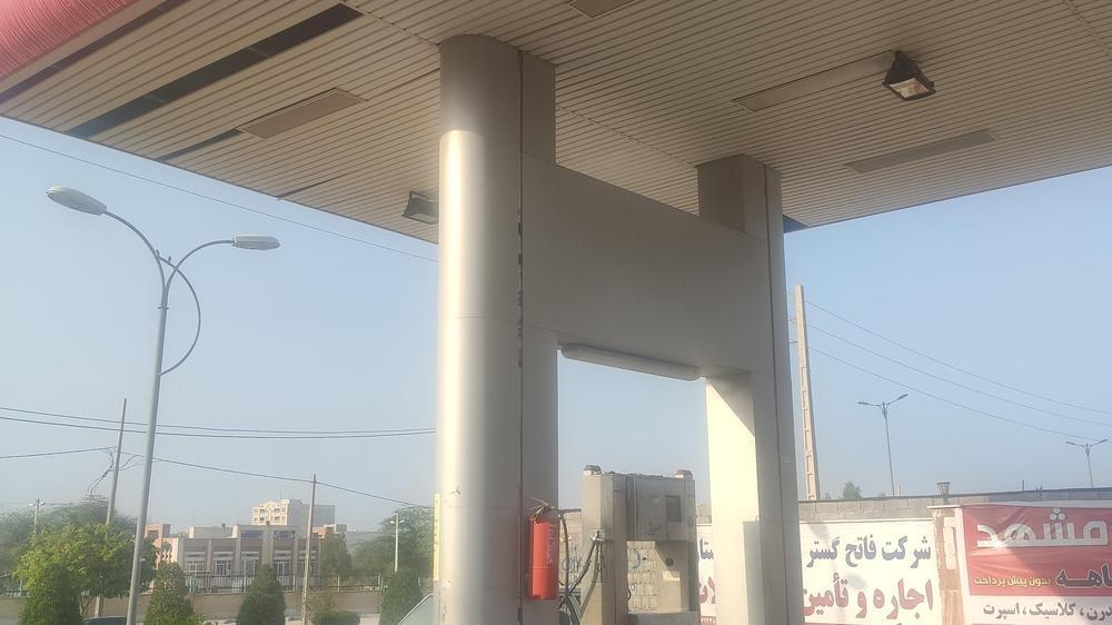 جایگاه CNG شهرداری کنگان