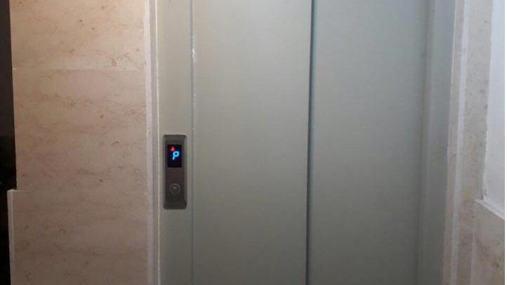 درب آسانسور حریری