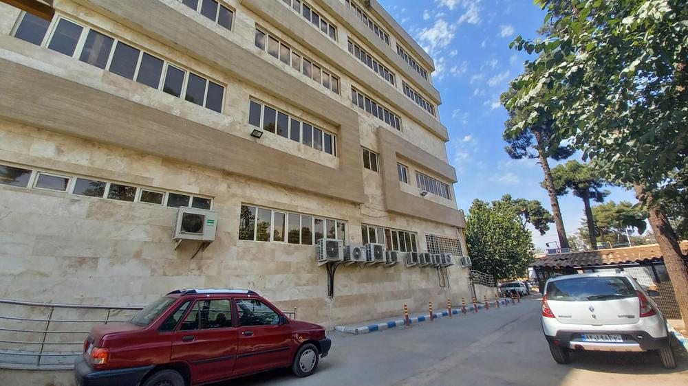 ساختمان جدید بیمارستان فیروز ابادی