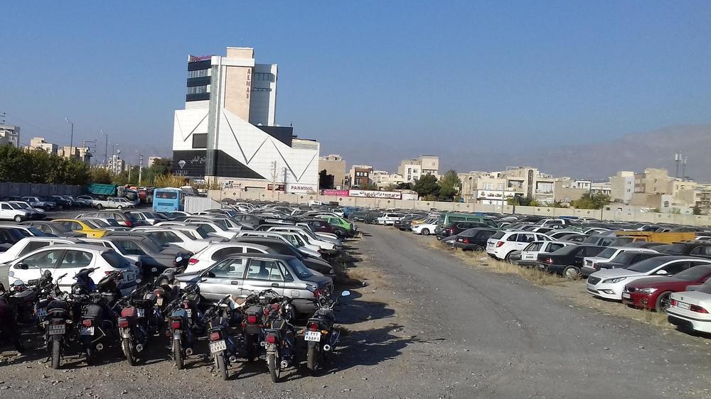 پارکینگ پارسیان راهنمایی رانندگی