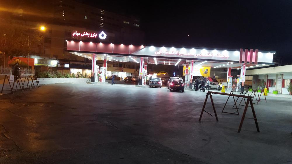 پمپ بنزین پارامونت